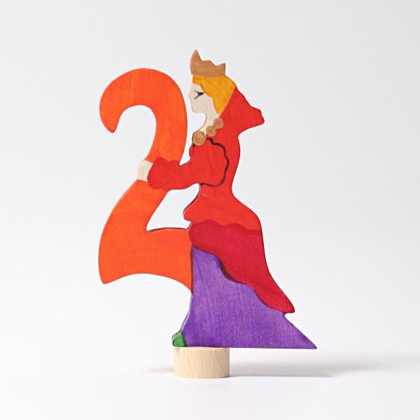 Grimm's Steker sprookjes getal cijfer 2