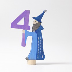 Steker sprookjes getal cijfer 4