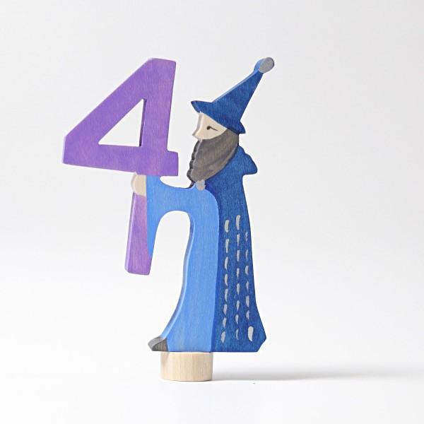 Grimm's Steker sprookjes getal cijfer 4
