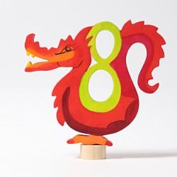 Steker sprookjes getal cijfer 8