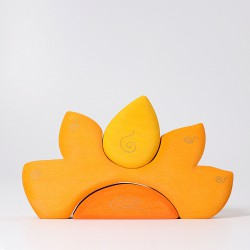 Huis zon geel