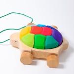 Grimm's Schildpad regenboog met koord