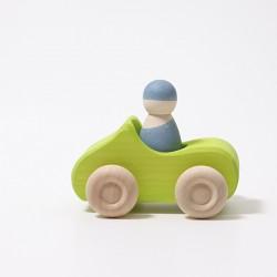 Auto cabrio groen klein