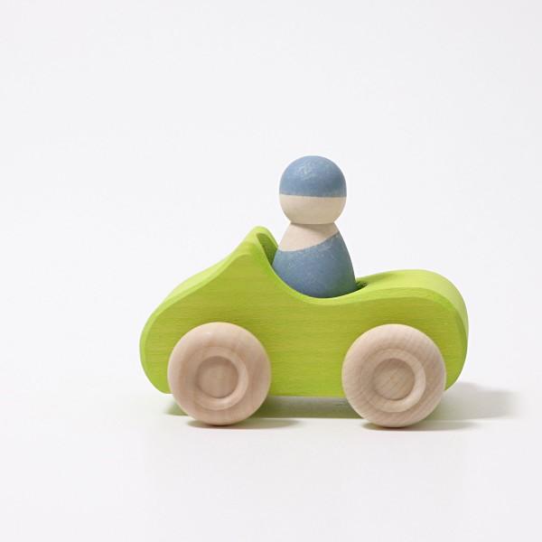 Grimm's Auto Cabrio groen klein