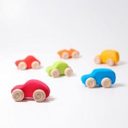 Auto set van 6 gekleurd
