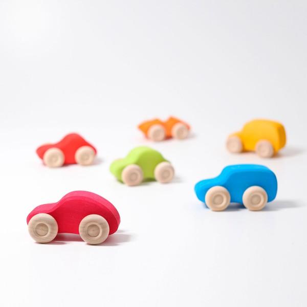 Grimm's Auto set van 6 gekleurd