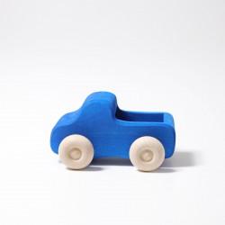 Vrachtwagen blauw
