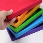 Grimm's Frames set in regenboog kleuren