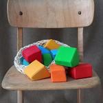 Grimm's Waldorf Blokken gekleurd