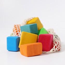 Waldorf Blokken gekleurd