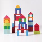 Grimm's Blokken geometrisch gekleurd 60