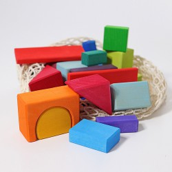 Blokken geometrisch gekleurd 30