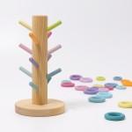 Grimm's Sorteerboom Pastel voor ringen