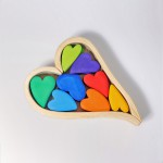 Grimm's Blokken harten regenboog