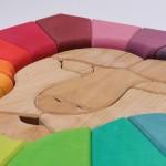 Grimm's Blokkenset Regenboog Leeuw
