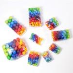 Grimm's 36 Kralen in regenboog kleuren, 30 mm