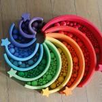 Grimm's Kralen regenboog kleuren 96