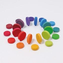 Regenboog munten - NIEUW 2020