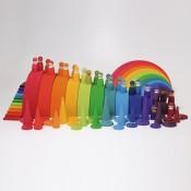 Regenboog wereld