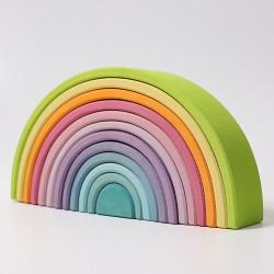 Regenboog groot pastel