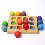 Grimm's Kleine houten ballen Pastel