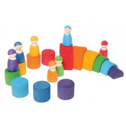 Regenboog vriendjes 7 stuks