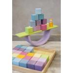 Grimm's Bouwplaten pastel