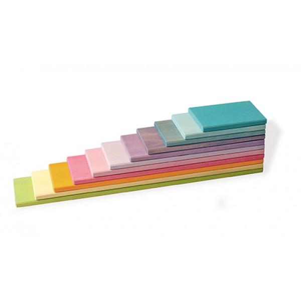 Bouwplaten pastel