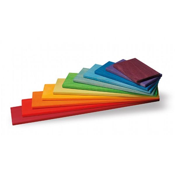 Bouwplaten regenboog