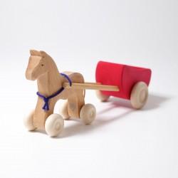 Paardenkar rood