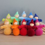 Grimm's Dwergen meisjes in regenboog kleuren