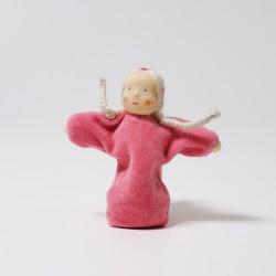 Pop lavendel meisje roze