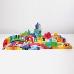Grimm's Bouwplaten en spel plankjes vierkant