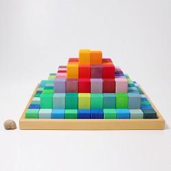 Blokkendoos Piramide groot