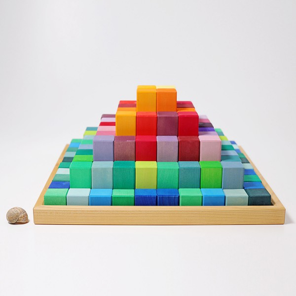 Grimm's Blokkendoos Piramide groot