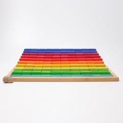 Blokkenset trap groot
