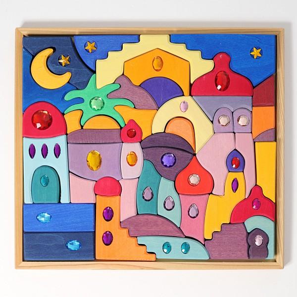 Grimm's Puzzel Orient 1001 nacht met glitterstenen