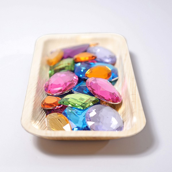 Grimm's Glitter stenen 28 stuk groot