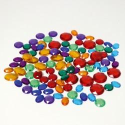 100 kleine glitter stenen