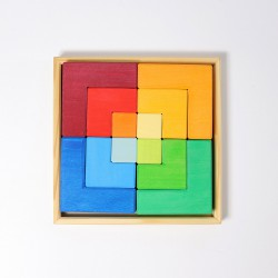 Puzzel vierkant groot