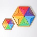 Grimm's Ster puzzel complementaire kleuren