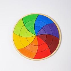 Puzzel mini kleurencirkel Goethe
