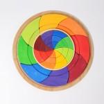 Grimm's Puzzel mini kleurencirkel Goethe