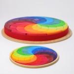 Grimm's Puzzel mini regenboog cirkel spiraal
