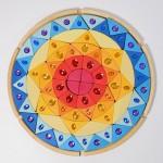 Grimm's Mandala glinsterend zon