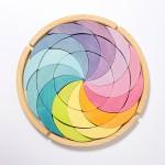 Grimm's Puzzel kleurenwiel Pastel