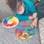 Grimm's Puzzel kleurenwiel Regenboog