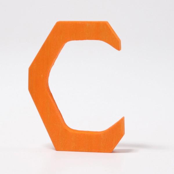 Grimm's houten letter C