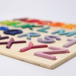 Grimm's Alfabet puzzel | letters A tot Z op bord