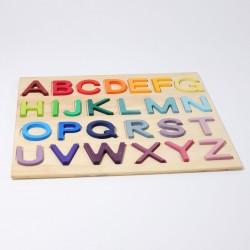 Alfabet puzzel | letters A tot Z op bord